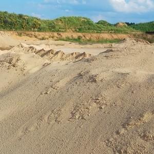 мытый чистый песок