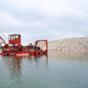 производство речного песка на Волге