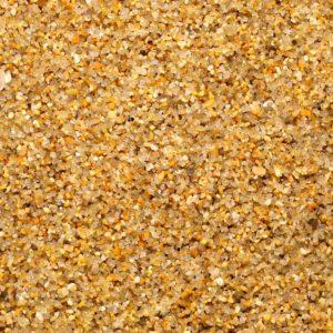 сеяный песок под микроскопом