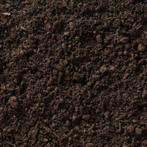 крупное фото просеяной земли без корней