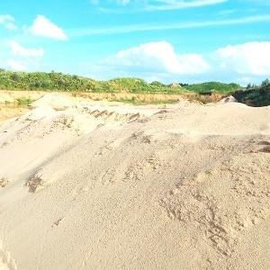 Мытый песок в Некрасовском карьере