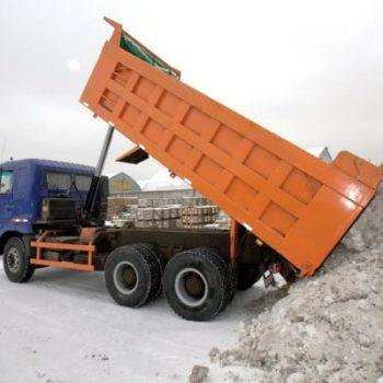 Перевозка снега