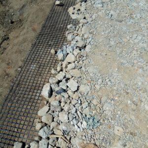 вторичный щебень в дорожном строительстве