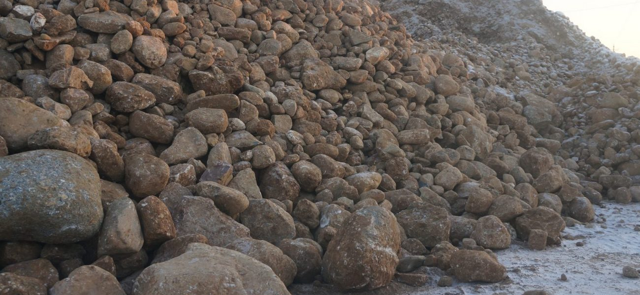 Крупный природный гравий