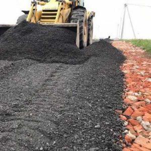 строительство дороги c низкой нагрузкой